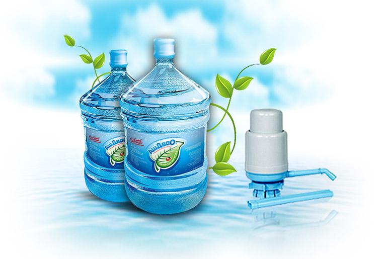 Заказ воды на дом помпа в подарок в 59