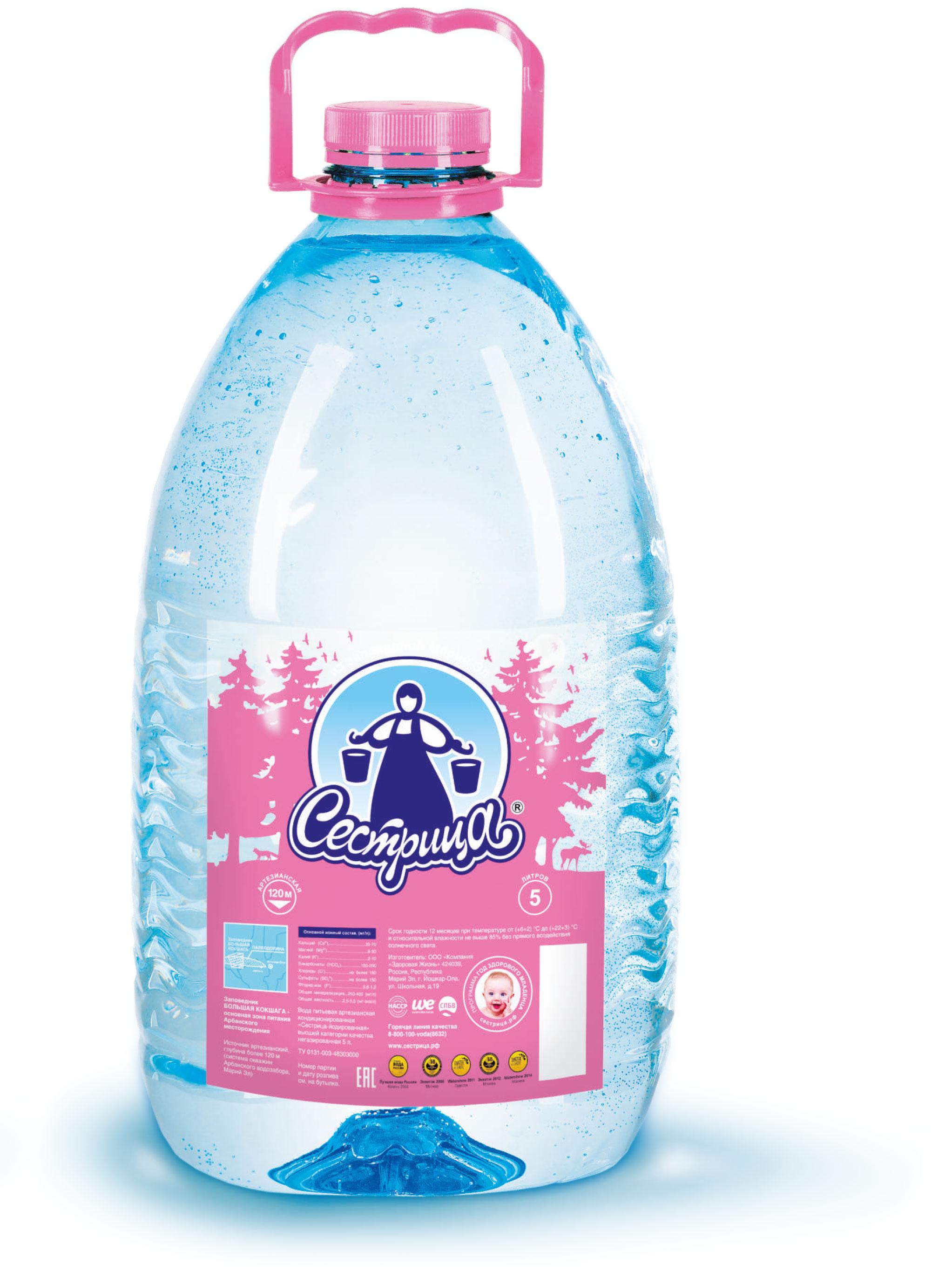 Доставка питьевой бутилированной воды на дом быстрая